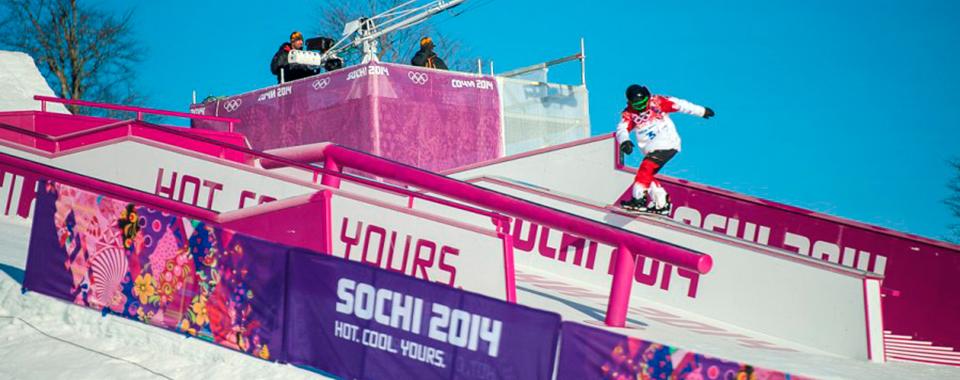 Джиббинговое оборудование для Олимпиады