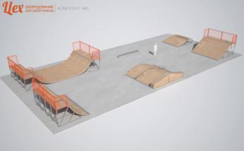 Скейтпарк для начинающих