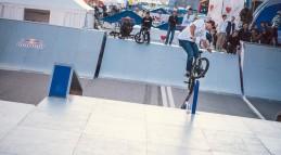 Скейтпарк для соревнований на скейтборде и BMX