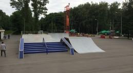 Разборный скейт-парк ЦЕХ