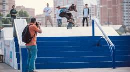 Мобильный скейтпарк от компании ЦЕХ