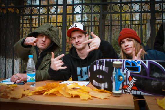 Судьи: Павел Сорокин, Александр Седов и помощница Юлия Зверева