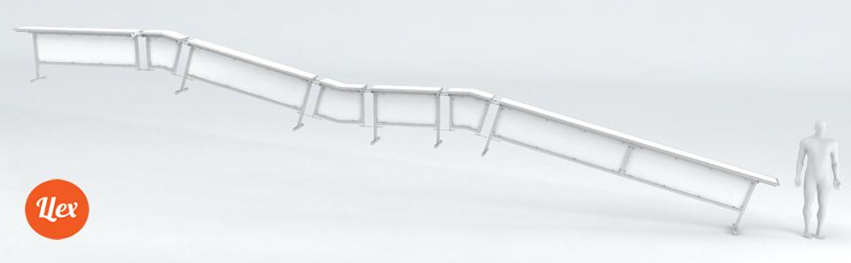 Модульный Т-бокс от Цех для джибинга в сноупарке