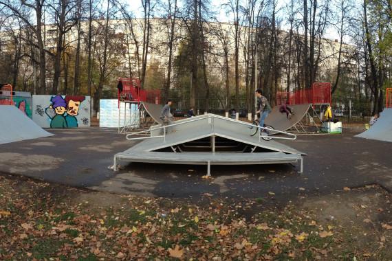 Скейтпарк в Подольске
