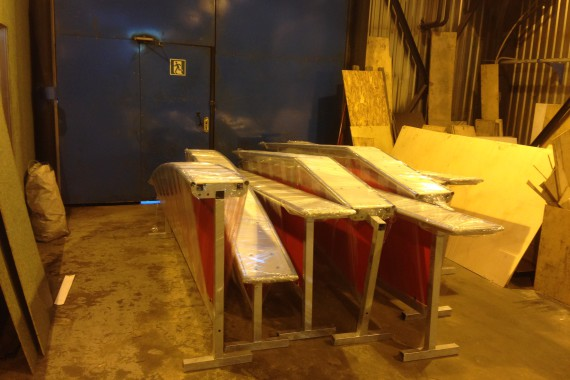 Слайдбоксы для сноупарка в Иваново от компании Цех