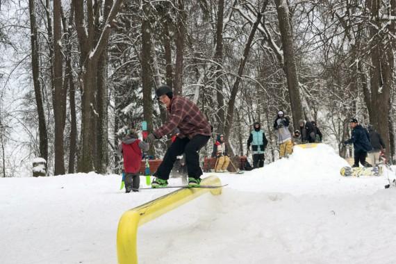 Сноуборд фигуры для джибинга