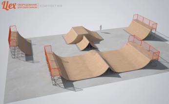 Скейт-парк для BMX и скейта
