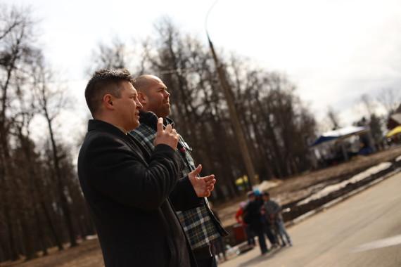 Директор парка Скитские пруды: торжественное открытие Скейтпарка Цех
