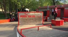 Паркур площадка на Puma Social Club