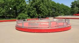 Площадка для Панны, футбол