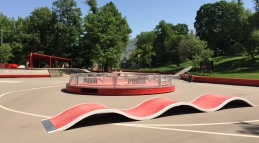 Скейтпарк в Парке Горького