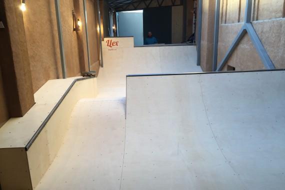 Минирампа в гараже