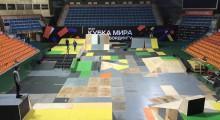 Установка деревянного скейтпарка