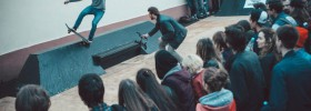 Скейтпарк adidas