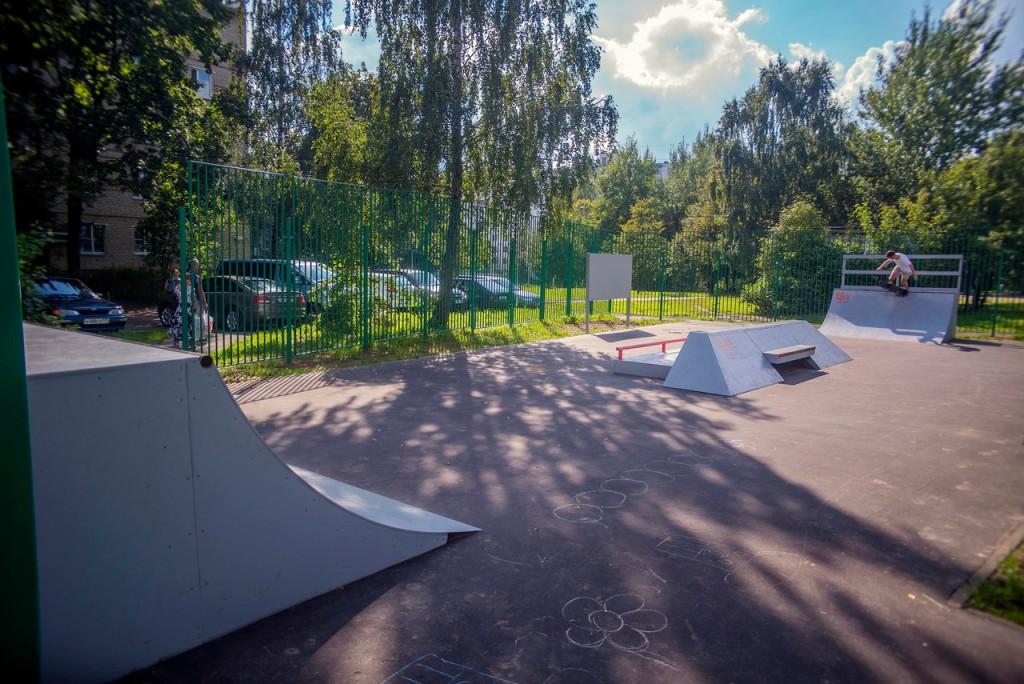 Скейт-парк в Кокошкино