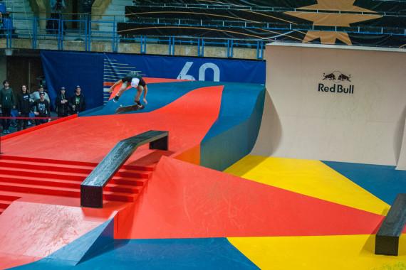 Скейтпарк для Кубка Мира