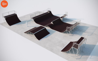 Скейтпарк для бмх