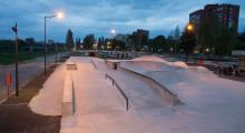 Бетонный скейтпарк Цех