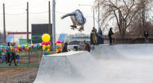 Гена Какуша в скейтпарке Цех