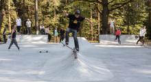 Бетонный скейт-парк в Климовске