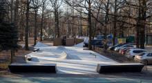 Скейт-парк в Химках в парке Толстого