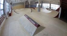 Деревянный скейт-парк Цех
