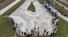 Бетонный скейт-парк Цех
