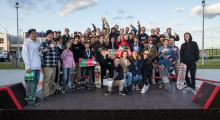 Соревнования по скейтбордингу в Иннополисе Татарстан
